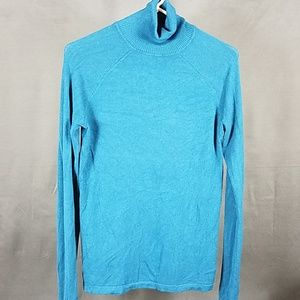 3 for $12- Teal light weight Turtleneck Medium